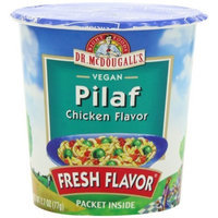 Dr. McDougall's Right Foods Vegan Pilaf Chicken Flavor, 2.7-Ounce Cups ( Pack of 6)