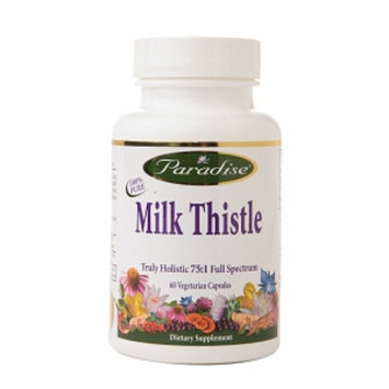 Paradise Herbs Milk Thistle Truly Holistic 75:1