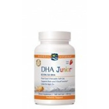 Nordic Naturals - Dha Junior - Strawberry 180 Gel Caps