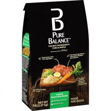 Pure Balance Lamb and Brown Rice Dog Food