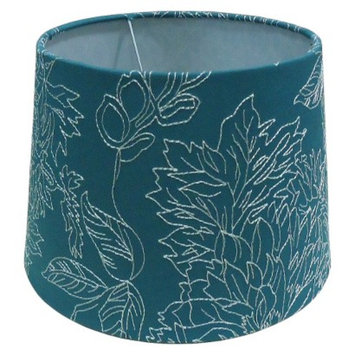 Threshold Toile Stich Lamp Shade Small - Teal