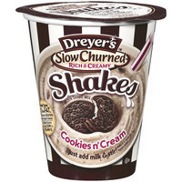 Dreyer's/edy's Dreyer?s Slow Churned Cookies N Cream Frozen Shake Mix, 8.1 oz