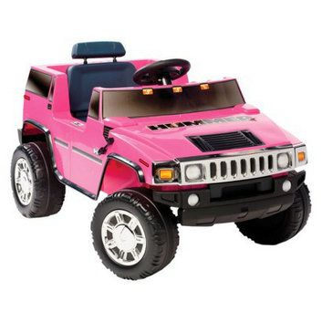 National Products LTD. National Products - Kid Motorz - Hummer H2 in Pink 6V