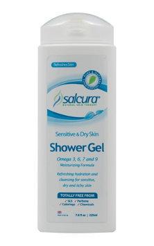 Salcura Natural Skin Therapy - Omega Rich Shower Gel for Sensitive & Dry Skin - 7.6 oz.