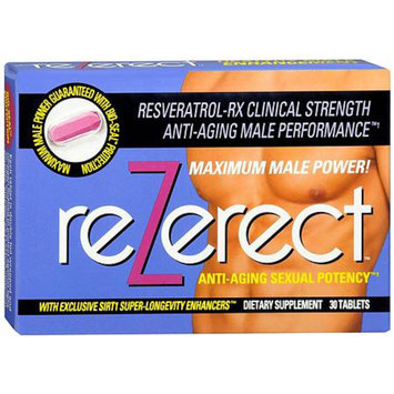 ReZerect Anti-Aging Sexual Potency Dietary Supplement Tablets