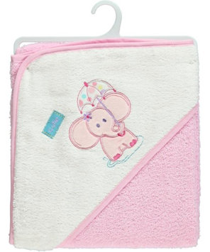 Luvable Friends Cutie Elephant Hooded Towel