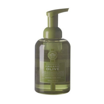 The Stratford Apothecary Greenscape Organic OLIVE Natural Soap Free Foaming Hand Wash 500ml