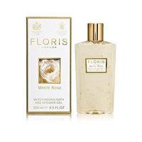 Floris London White Rose Moisturising Bath and Shower Gel - 250 ml, 8.5 fl oz