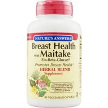 Breast Health with Maitake Bio-Beta Glucan Nature's Answer 90 VCaps
