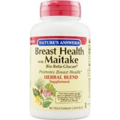 Breast Health with Maitake Bio-Beta Glucan Nature's Answer 90 VCaps