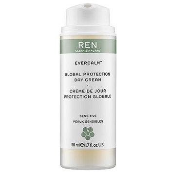 REN Evercalm Global Protection Day Cream, Sensitive, 1.7 fl oz