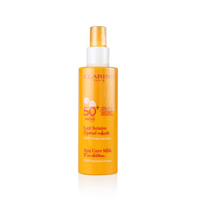 Clarins SPF 50+ Sun Care Milk for Children
