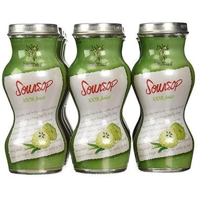 Jans SOURSOP Guanabana Graviola REAL TASTE 100 Juice, 6 oz / 180 ml Pack of 12