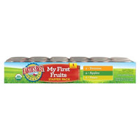 Earth's Best Organic My First Fruits Baby Food Starter Pack, 2.5 oz.