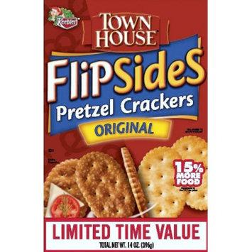 Keebler Town House Flipsides Original Pretzel Crackers 14 oz