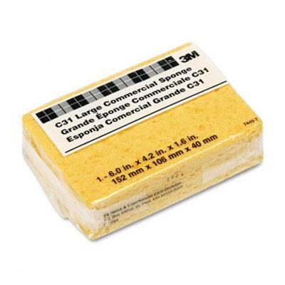 3m 3M Commercial Cellulose Sponge, Yellow, 4-1/4 x 6