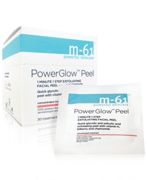 m-61 by Bluemercury PowerGlow Peel 1 Minute 1-Step Exfoliating Facial Peel - 30 Treatments