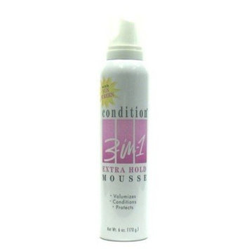 Condition 3-N-1 Mousse 6 oz. Extra-Hold (Case of 6)