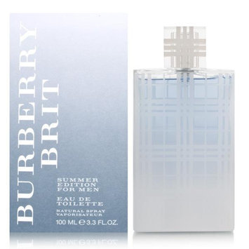 Burberry Brit Summer by Burberry for Men EDT Spray