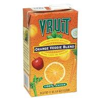 Vruit Orange Veggie Pure Juice, 32-Ounce (Pack of 12)