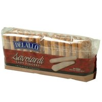 DeLallo Savoiardi (Lady Fingers), 7-Ounce Packages (Pack of 6)