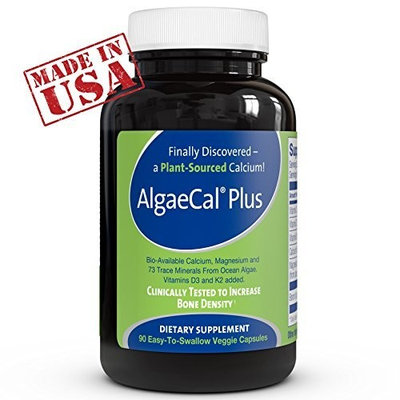 Best Calcium Supplement ● AlgaeCal Plus is a Natural, Plant Based Calcium Supplement & Bone Building Formula ● Increases Bone Density Without Side Effects ● For Women and Men 45 And Older Looking to Prevent or Recover From Osteopenia & Osteoporosis ● The Only Organic Calcium Supplement Clinically Supported to Increase Bone Density!