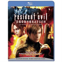 RESIDENT EVIL: DEGENERATION BY COURT, ALYSON (Blu-Ray)