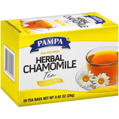 Pampa Herbal Chamomile Tea Bags, 20 count, 0.92 oz