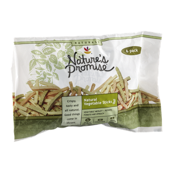 Nature's Promise Natural Vegetable Sticks - 6 CT