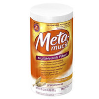 Metamucil MultiHealth Fiber Texture Powder Supplement