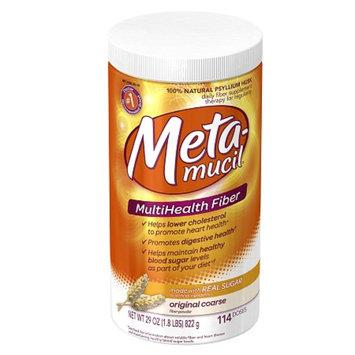 Metamucil MultiHealth Fiber Texture Powder Supplement
