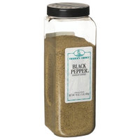 Traders Choice Black Pepper, Shaker-Ground, 16-Ounce Plastic Containers (Pack of 3)