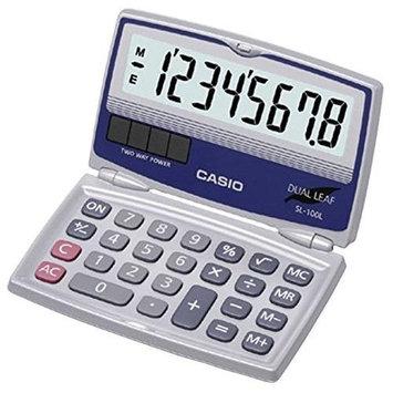 CASIO CIOSL100LW Casio Inc SL-100L Standard Function Calculator