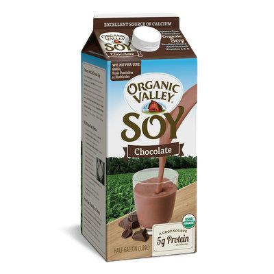 Organic Valley® Chocolate Soy, Half Gallon