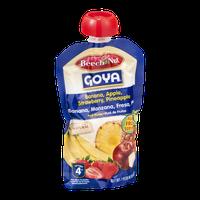 Beech-Nut Goya Stage 4 Fruit Puree Banana, Apple, Strawberry, Pineapple