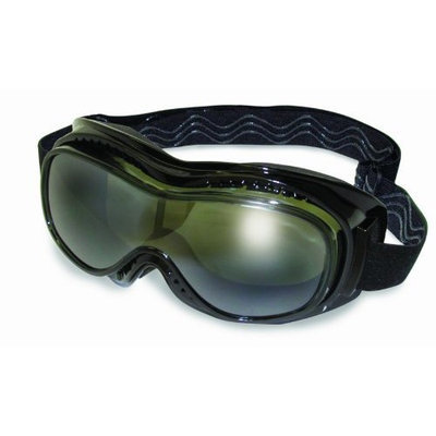 Global Vision Mach 1 Goggles - One size fits most/Black w/ Smoke [Black w/ Smoke, One size fits most]