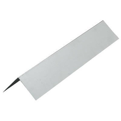 CMI 4-in x 10-ft Galvanized Steel Step Flashing for Decks, Chimneys, Skylights, Roofs, and Gutters LF44G