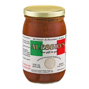Alessio's Authentic Homemade Spaghetti Sauce