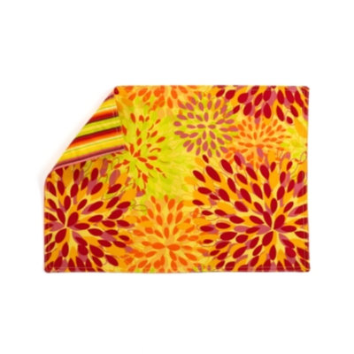 Fiesta Table Linens, Set of 4 Calypso Floral Sunflower Placemats