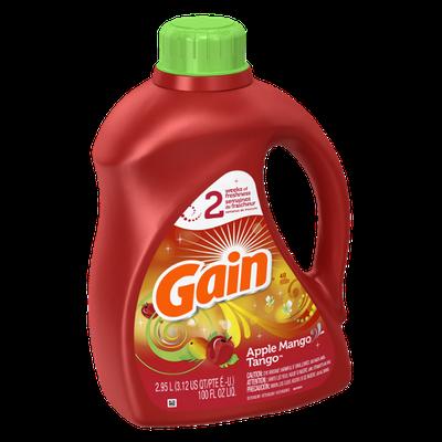 Gain with FreshLock Apple Mango Tango Liquid Detergent 48 Loads 100 Fl Oz