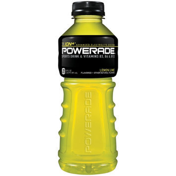 Powerade Lemon-Lime Ion4 20 Oz