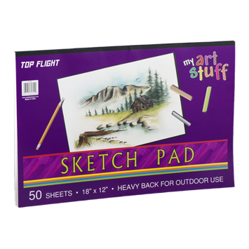 Top Flight My Art Stuff Sketch Pad