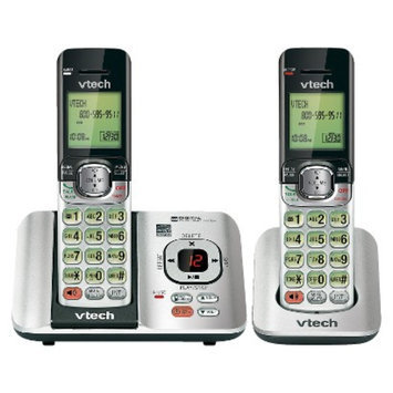 VTech DECT 6.0 Cordless Phone System (CS6529-2) with Answering
