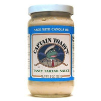 Captain Toady'S Tarter Sauce 8 Oz (Pack of 12)