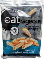 Eatrageous All Natural Chips Original Sea Salt 3 oz