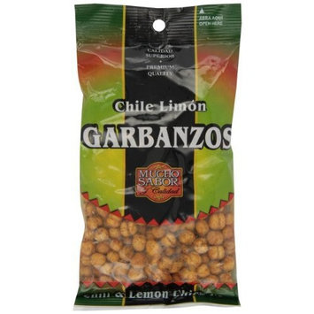 Mucho Sabor Garbanzos Chile y Limon, 5.0-Ounce Bags (Pack of 6)