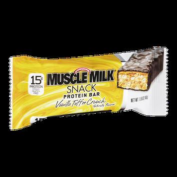 Muscle Milk Snack Protein Bar Vanilla Toffee Crunch