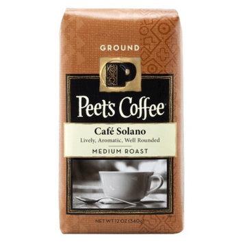 Peet's Coffee Café Solano Medium Roast Ground Coffee 12 oz
