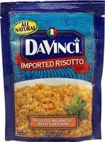DaVinci Imported Risotto Milanese with Saffron 6.2 oz