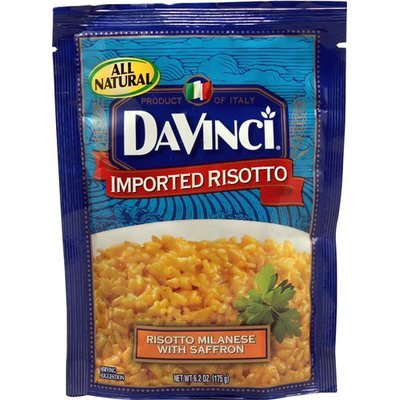 DaVinci Imported Risotto Milanese with Saffron 6.2 oz
